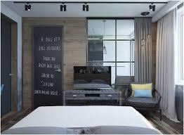 decoration de porte de chambre décoration chambre adulte industrielle spots orientables bois murs porte