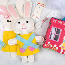 bonnie the bunny felt kit dotcomgiftshop
