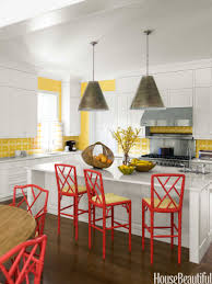 Yellow Kitchen Paint by Popular Kitchen Paint And Cabinet Colors Colorful Kitchen Pictures