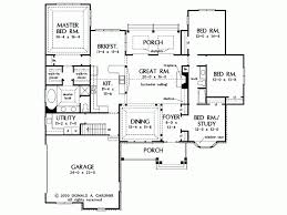 one story open house plans eplans craftsman house plan generous one story design with open