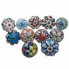 painted ceramic cabinet knobs painted knobs ebay