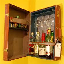 home design stylish locking liquor cabinet set to display your