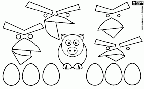 color angry birds space pigs coloring pages coloring