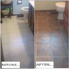 paint tile floor before and after home u2013 tiles