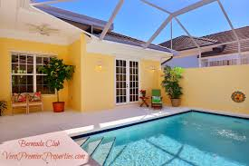 courtyard home with pool at the bermuda club vero beach