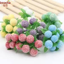 cheap 2 bundle bag foam flower decoration simulation diy