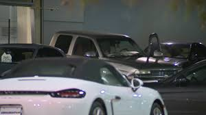 porsche showroom 3 men smash truck into porsche dealership in sw houston
