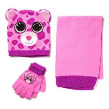 beanie boo hat glove scarf glamour toys