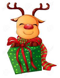imagenes animadas de renos de navidad ilustración de dibujos animados de carácter para navidad renos