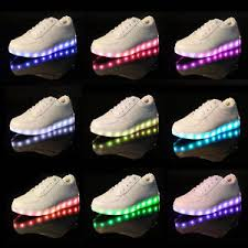 led light up shoes for adults 7 colors women men led light up shoes luminous sportswear sneakers