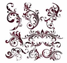 all free clipart vector graphics vector floral design elements free vector