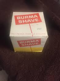 Burma Shave Meme - brushnsoapnblade wet shaving podcast where we look forward to