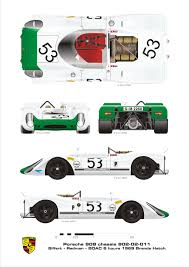 porsche 908 porsche 908 1969 smcars net car blueprints forum