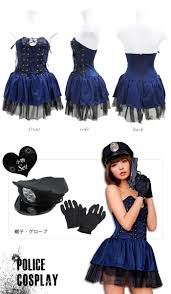 police halloween costumes beauty show rakuten global market police cosplay costumes