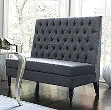 Home Interiors Gifts Inc Website Dining Banquette Settee Silver Modern Banquette Bench Seating With