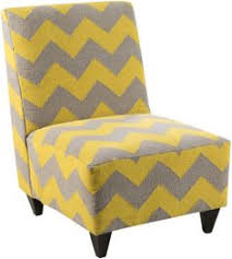 yellow and gray accent chair flower power accent chair