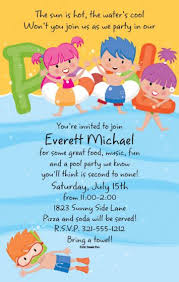 birthday invitation wording samples for kids image collections