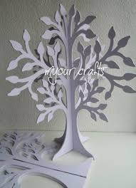 we decorate these free standing wooden trees for birthday