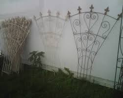 wrought iron garden trellis the gardens