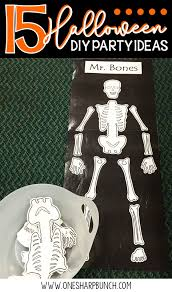 diy halloween party ideas 15 diy halloween party ideas for the classroom one sharp bunch