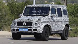 mercedes g class blacked out 2018 mercedes g class spied looking a lot like its 1979 ancestor