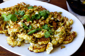 Toasting Pumpkin Seeds Cinnamon Sugar by Roasted Cauliflower With Pumpkin Seeds Brown Butter And Lime