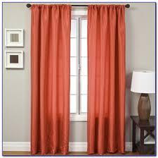 Red Orange Curtains Burnt Orange Curtains Ebay Curtain Home Decorating Ideas