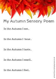 free printable autumn fall writing prompts for kids literacy