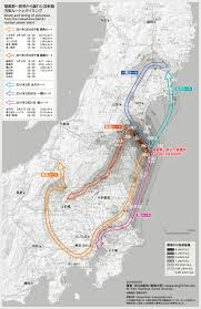 Fukushima Fallout Map by Useful Maps