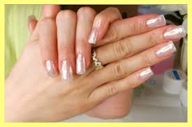 gel nails fill in at home diy youtube