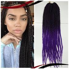 ombre senegalese twists braiding hair box braids hair crochet 20 crochet hair extensions synthetic