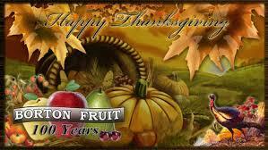 2014 thanksgiving hours borton fruit