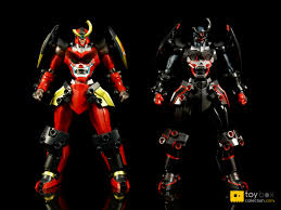 gurren lagann review of bandai super robot chogokin anti gurren lagann