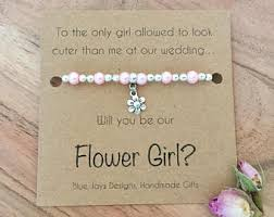 will you be my flower girl gift will you be my flower girl be my bridesmaid flower girl