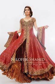nilofer shahid latest bridal collection 2011 2012