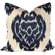 Navy Blue Decorative Pillows Cup Half Full White Bedding Inspiration