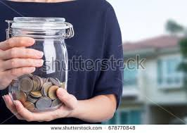 money growing plant step deposit coin stock photo 180233393