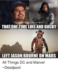 Meme Jason - all things dc and marvel that one timeluis and bucky left jason