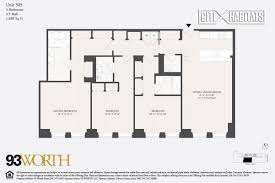 Plan 888 15 by Streeteasy 93worth At 93 Worth Street In Tribeca 505 Sales