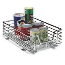 Under Cabinet Sliding Shelves Sliding Pull Out Baskets For Kitchen And Pantry Storage Storables