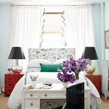Bedroom Bed In Front Of Window 10 Easy Decorating Ideas That U0027ll Turn Your Bedroom Into An Oasis