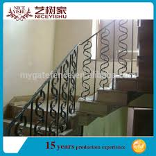 Iron Grill Design For Stairs Modern Decorative Interior Wrought Iron Stair Railings Stair Grill