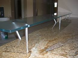 Floating Bar Table Glass Bar Top Counter Floating Kitchen Counter Gluechipped Glass