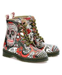 zulily s boots another great find on zulily black sugar skulls ankle boot