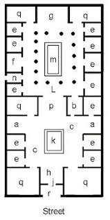 roman floor plan classy inspiration floor plan roman house 6 ancient roman homes