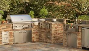 Outdoor Island Kitchen Outdoor Kitchen Built In Grills And Product Reviews Around Grill