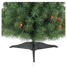 3ft prelit artificial tree alberta spruce multicolored