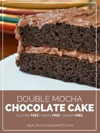 double mocha chocolate cake healthy living how to