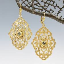 filigree earrings catherine popesco filigree earrings with talich
