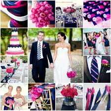pink and navy blue wedding tricia wedding pinterest